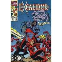 Excalibur (1988 series) #35 in Near Mint condition. Marvel comics [*dt]