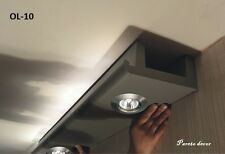 32 Meter+8Ecken LED Spot Profil Stuckleiste für indirekte Beleuchtung XPS OL-10