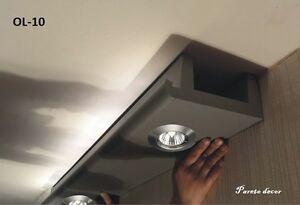 14 Meter+4Ecken LED Spot Profil Stuckleiste für indirekte Beleuchtung XPS OL-10