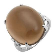 Topaz White Gold 10 Carat Fine Rings