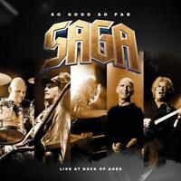SAGA - SO GOOD SO FAR-LIVE AT ROCK OF AGES  2 DVD+CD NEW+