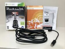 Rocksmith Real Tone Cable Rock Smith (Cable & Manual Only) XBOX 360 - NO GAME