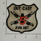 Vietnam Theater Made Out Cast 5th Aviation Detachment Patch #26