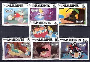 022+ TIMBRES  WALT DISNEY   SERIE MALDIVES