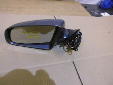 Audi A4 B6 FRONT LEFT WING MIRROR IN GREY CODE LX7Z PASSENGER SIDE NSF 01 > 05