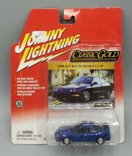 Johnny Lightning Classic Gold Blue 1998 Acura Integra GS-R