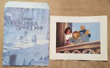 Walt Disney - The Hunchback of Notre Dame - Exclusive Commemorative Lithograph