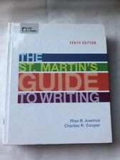 The St. Martin's Guide to Writing,10th Ed, Hardcover, Axelrod & Cooper, e-Pages
