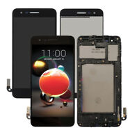 LCD DISPLAY+TOUCH SCREEN+FARME For LG Zone 4 Verizon LM-X210VPP US