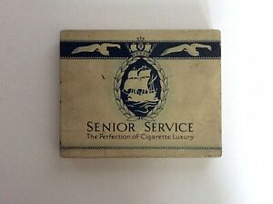 Vintage Collectable Senior Service Tobacco Tin with Original Paper