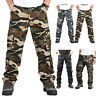 Men Outdoor Tactical Pants Army Military Combat Cargo Camo Work Combat Trousers
