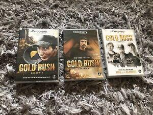 Gold Rush Season 4 5 6 Dvds