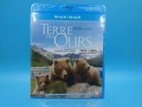 neuf film reportage blu ray 3D terre des ours animaux reel universal