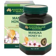 Australian by Nature Bio Active Manuka Honey 8+ 1KG - New Zealand Manuka Honey