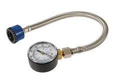 MAINS WATER PRESSURE TEST GAUGE 0-11 BAR PLUMBING HOUSEHOLD 482913