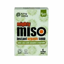 King Soba Organic Miso Soup with Pumpkin & Vegetable 60g