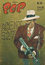 PEP 1968 nr. 34 - AGENT 327 (COVER) / FERDINAND BRACKE / CAMARA SS 396 / COMICS