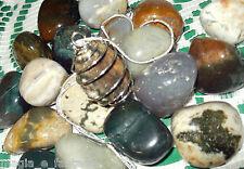Collana con DIASPRO OCEANO cristalloterapia zen pietr mineral chakra argento