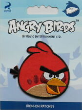 ANGRY BIRDS - red - Aufnäher / Patch / Badge - Neu  - #9006 - Aufbügler