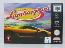 Lamborghini Nintendo 64 100% Pal Version Game( AUS ) New In Box