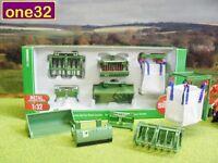 SIKU FARM 1/32 TRACTOR LOADER ATTACHMENTS SET 3658 BOXED & NEW