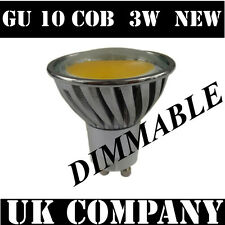 GU10 * 3 W COB LED DIMMABLE 340 lm DAY WHITE* spotlight *next generation  SMD