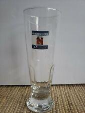 Rare Feldschlosschen Original Bier Beer Glass 7.75 Tall France
