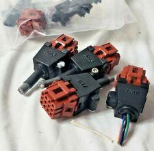 amphenol 12 pin triple lock High Temp housing receptacle plug TE Connectivity