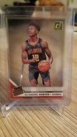 2019-20 Panini Clearly Donruss DeAndre Hunter Rated Rookie RC Gold Acetate