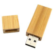 2 Go Cle USB en Bois pivotant USB 2.0 Memoire Flash U disque en bambou Cle L1K7
