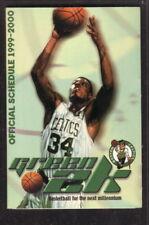 Boston Celtics--Paul Pierce--1999-00 Pocket Schedule--Citizens Bank