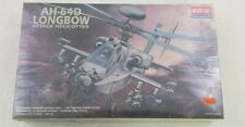 Vintage Academy 1/48 AH-64D Longbow Attack Helicopter Kit#2125 New Sealed