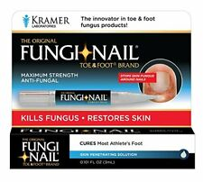 2 Pack Fungi Nail Brand Toe and Foot Pen Anti-Fungal Solution 0.101oz Each