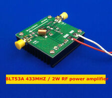 BLT53A 433MHZ power broadband 2W RF power amplifier high gain with Heat Sink