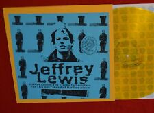 JEFFREY LEWIS DID NOT CHOOSE THE TRACKS LP MINT VINYL PIAPTK SOILD GOLD X/200