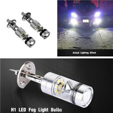 2X Auto Car H1 100W LED Fog DRL Driving Light Lamp Bulbs White Error Free 6000K