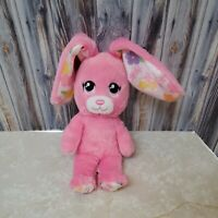 "Build a Bear Bunny Smallfrys Buddies Rabbit 8"" Plush Doll Stuffed Animal Easter"