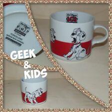 Mug - Tasse - Disney Porcelaine - 101 Dalmatiens - Blanc et Rouge - Ref M2