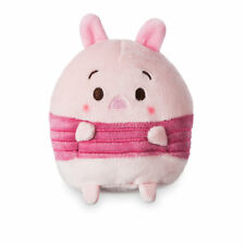 """DISNEY STORE PIGLET UFUFY PLUSH SMALL 4 1/2"""" APPLE BLOSSOM SCENTED SITS UPRIGHT"""