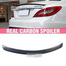 Real Carbon Fiber Rear Trunk Spoiler For MERCEDES BENZ CLS-Class 2011-2016 W218
