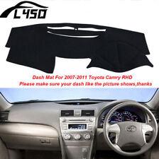 Car Dash Mat For 2007-2011 Toyota Camry RHD Sun Dashboard Cover Dashmat Anti-UV