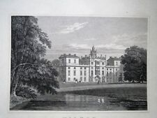 Wilton south east view genuine  engraving published c 1830