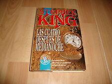 LAS CUATRO DESPUES DE MEDIANOCHE LIBRO DE STEPHEN KING 1ª EDICION DEL AÑO 1992