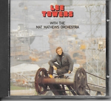 LEE TOWERS - With the Mat Mathews Orchestra CD Album 12TR Holland 1989 ARIOLA