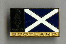 Rare  Official Scotland Olympic Team pin badge Atlanta 1996