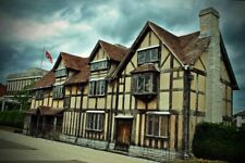 William Shakespear's House Stratford Upon Avon England UK Photograph Picture