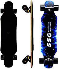 31In Kids Longboard Skateboard 7 Layers Pro Complete Carving Cruiser longboards