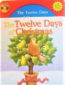 The TWELVE DAYS Of CHRISTMAS: STORY And SONGS On Audio CD+BOOK XMAS V. RARE NEW