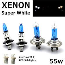 H1 H7 T10 55w Super Blanco Xenon Luz de Cabeza de actualización Bombillas Set Dip Haz Principal C