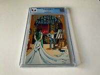 STRANGERS IN PARADISE 1 CGC 9.6 WHITE PAGES TERRY MOORE ABSTRACT STUDIOS COMICS